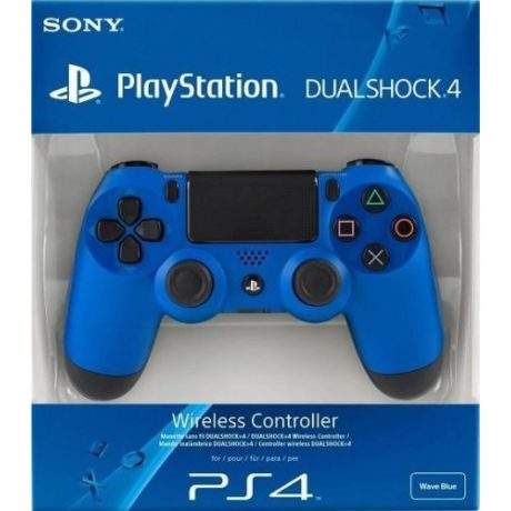 Sony Wireless Dualshock PlayStation 4 Controller (wave blue)