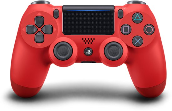 Sony PlayStation 4 Wireless Dualshock 4 V2 Controller – Rood – PS4 console360.nl