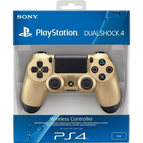 playstation 4 v2 controller gold (3)